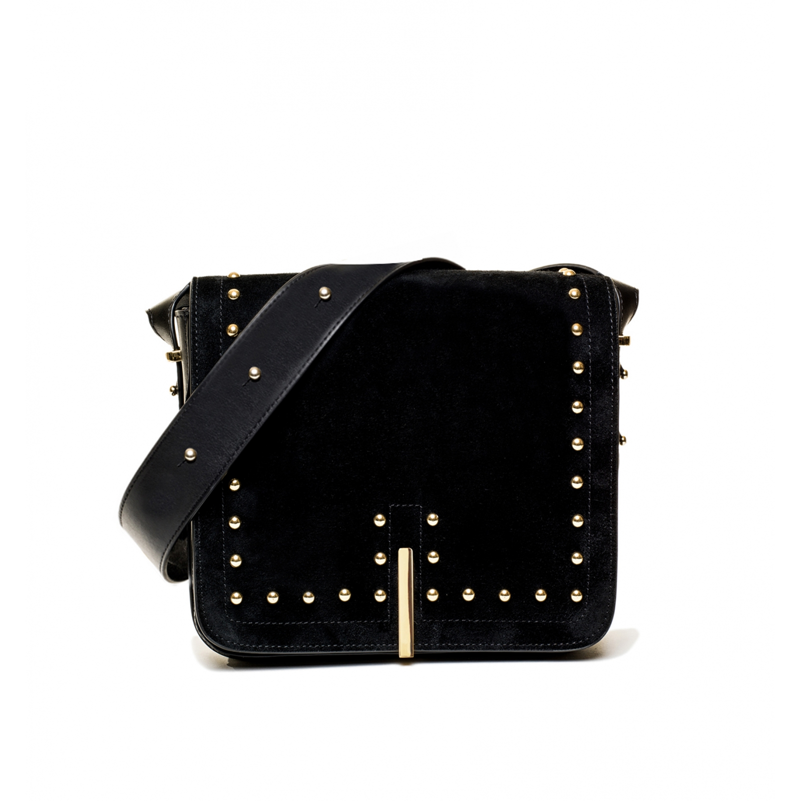 TINO DOUBLE STUDS BLACK