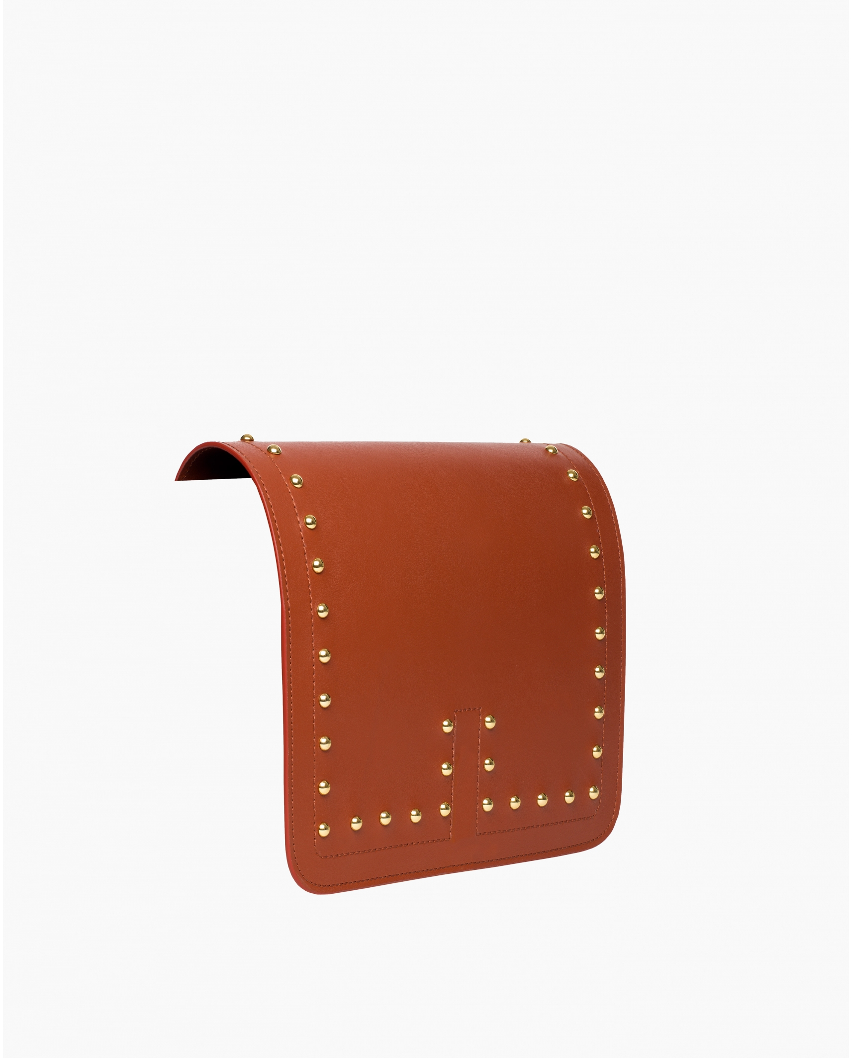TINO LEATHER STUDS FLAP SIERRA