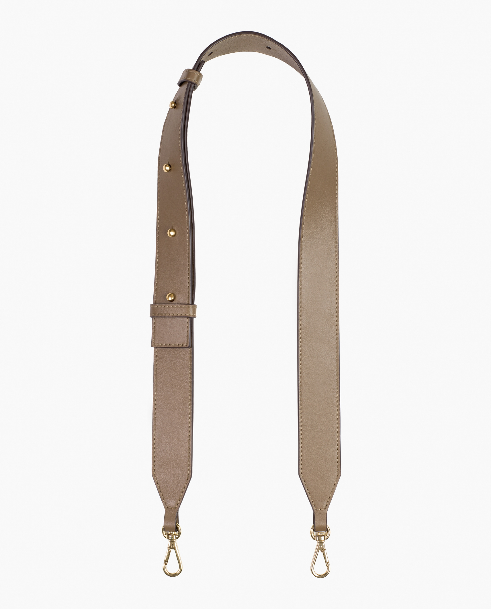 LARGE STRAP TAUPE
